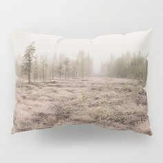 Arctic swamp Pillow Sham by minnac Pillow Shams, Pillows, Arctic, My Photos, Tapestry, Design, Pillowcases, Hanging Tapestry, Tapestries