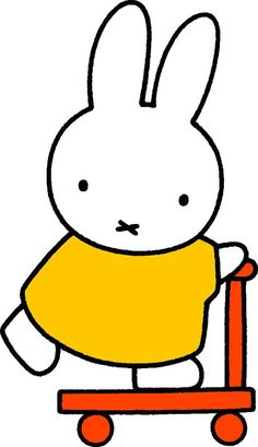 Gliding by, Miffy was acutely aware that she could slip, fall, and die at any…