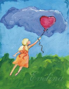 Love is in the air. 8x10 print by artsybazaar on Etsy, $16.00