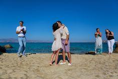 A Simple and Intimate Elopement Beach Wedding in Naxos Island, Cyclades Greece Naxos Greece, Greece Wedding, Wedding Photography, Italy, France, Island, Couple Photos, Simple, Beach