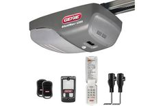 Genie SilentMax 1200 Garage Door Opener – ¾ HPc Power Plus DC Motor Belt Drive System – Includes 2 Remotes, Wall Console, Wireless Keypad, Motion Detector and Safe-T-Beams – Model Best Garage Door Opener, Best Garage Doors, Overhead Garage Door, Garage Door Repair, Home Security Tips, Home Security Systems, Liftmaster Garage Door, Residential Garage Doors, Belt Drive