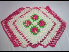 Uncinetto Crochet Tutorial Centro Tavola curto - YouTube