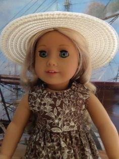 Voyage Ensemble Doll Dress Doll Hat Doll by JessicasDollCloset
