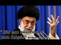 """URGENTE! """"NÃO SOU QUALIFICADO"""" diz KHAMENEI em vídeo vazado de 1989"""