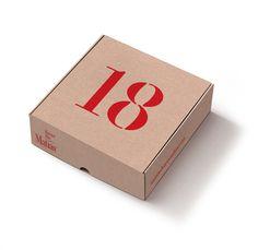 Nuevas cajas 2017.  - personaliza con tu número preferido. Corrugated Box, Container, Packaging, Gifts, Style, Party, Baskets, Bom Dia, Boxes