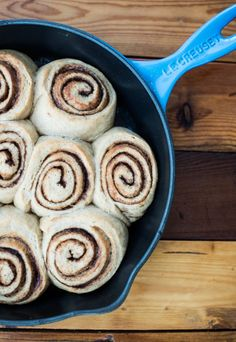 Cinnamon Rolls with whole wheat and coconut sugar