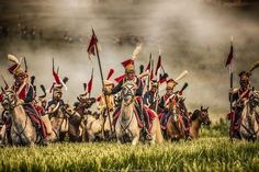 Nice portrait of French Guard Polish lancers reenactors at the 2015 200th anniversary of Waterloo. (Константин Охота | ВКонтакте)