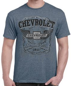1911 The American Classic Chevrolet Tee Officially GM Licensed Mens T-Shirt Est