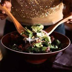 7 Ways With Vanilla   Mixed Salad with Vanilla-Pear Vinaigrette and Toasted Walnuts   MyRecipes.com