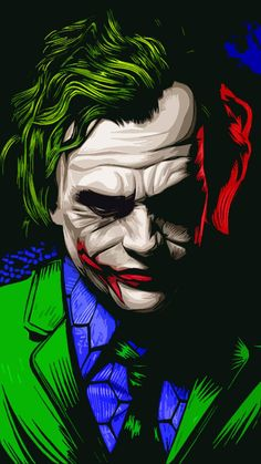 Here you can find a most impressive collection of Joker Wallpapers to use as a background image for Phone, PC, Laptop, iPhone and Android Mobile. Batman Wallpaper, Phone Wallpaper Images, Background Hd Wallpaper, Wallpaper Backgrounds, Le Joker Batman, Joker Heath, Joker And Harley Quinn, Joker And Harley Tattoo, Joker Cartoon