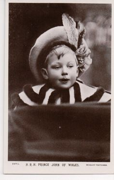 Prince John of The United Kingdom, Son of King George V and Queen Mary