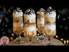 deser banoffee Party Food Buffet, Lunch Buffet, Cake Recipes, Dessert Recipes, Desserts, Dessert In A Jar, Banoffee, Just Bake, Sweet Cakes