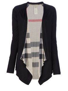 Black open cardigan from Burberry - totally need for winter. in love with this.
