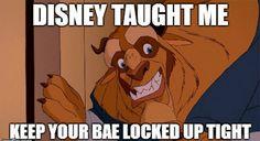 Beauty and the Beast Jokes & Memes Only Lifelong Disney Fans will Appreciate