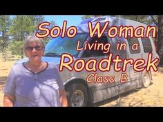 Jude, living in a Roadtrek Class B - see around Nature's Head composting toilet, her opinions re smell of previous kind. Her shower here as well. Living On The Road, Rv Living, Mobile Living, Bus Camper, Campers, Caravan Repairs, Travel Trailer Living, Class B Rv, On The Road Again
