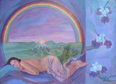 Dreaming Eye of Iris by Sami Edelstein