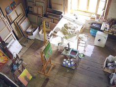 attic art studio idea-would love to have a personal art studio someday! :)