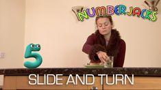NUMBERJACKS | Slide and Turn | S1E35
