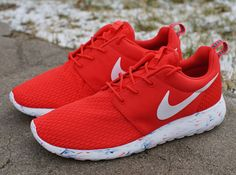 Nike Roshe Run Marble - Challenge Red | Sole Collector