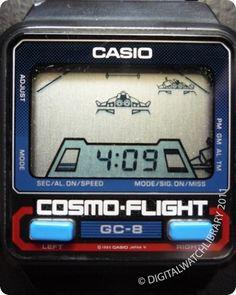 CASIO - GC-8 - Game - Vintage Digital Watch - DigitalWatchLibrary.com