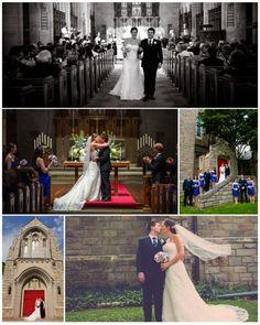 Traditional Church Wedding © Maggie J Photography