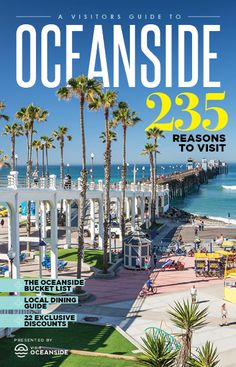Oceanside is the Southern California hot spot for FUN when it comes to art, dining and outdoor adventure- don't miss these 10 NEW things to…