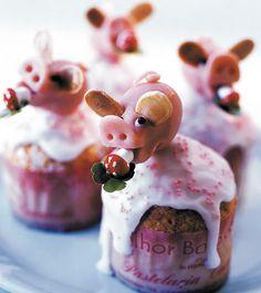 Fabulous Marzipangl cksschweinchen f r Silvester und das neue Jahr Mandelpl ttchen werden Schweine hrchen