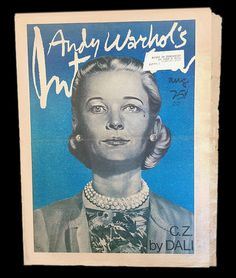 Andy Warhol's Interview Magazine Vol 6 No 8 C Z Guest August 1975 Very RARE | eBay