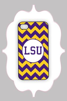 Fleurty Girl - Everything New Orleans - Purple and Gold Chevron ...
