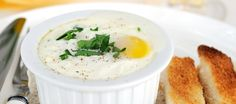 Oeuf Cocotte recept | Smulweb.nl