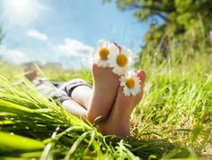 Photo about Child with daisy between toes lying in meadow relaxing in summer sunshine. Image of barefoot, daisy, green - 41630008 Déséquilibre Hormonal, Feeling Blah, Thing 1, Wellness, Palm Beach County, Sore Muscles, Get In Shape, Natural World, Sunshine Photos