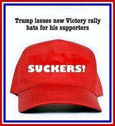 Anti Trump MAKE AMERICA GREAT AGAIN Hat MANGO MORON Trump PARODY EMBROIDERED