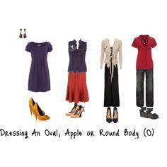 Dressing an Oval/ Round/ Apple Body Shape (O)
