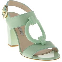 6081 Renzi Sandals ($580) ❤ liked on Polyvore featuring shoes, sandals, heels and heeled sandals