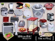 Kitchen Series by SIMcredible  http://www.thesimsresource.com/downloads/1174469