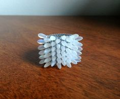 Spiky Ring @Etsy $45 #spike #punk #ring #jewelry #seaurchin #hipster #boho #accessories