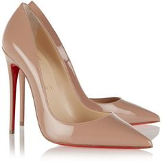 2ebdc8b14fb ... christian louboutin Pigalle Spike patent leather pointed-toe pumps Pink  conical studs
