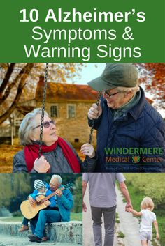 Alzheimer's disease is the most prevalent type of dementia. These are the signs you need to look out for: https://windermeremedicalcenter.com/alzheimers-symptoms/