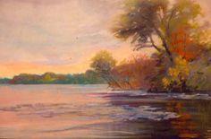 Pastel Landscapes | ... Elliot DIGITAL GALLERY of OIL PASTEL LANDSCAPES, page 1, larger view