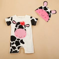 Cartoon Animal Baby Rompers - AiHome Store  $10.85/pc  https://aihome-store.myshopify.com/collections/children-clothes/products/cartoon-animal-baby-rompers