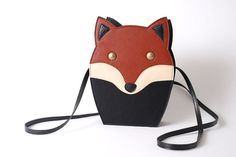 Mr fox bag by TitinaStore on Etsy, $45.00