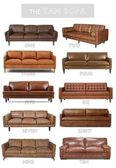 Tips That Help You Get The Best Leather Sofa Deal. Leather sofas and leather couch sets are available in a diversity of colors and styles. A leather couch is the ideal way to improve a space's design and th Living Room Sofa, Home Living Room, Living Room Furniture, Living Room Designs, Sofa Design, Design Design, Design Bedroom, Sofa Furniture, Furniture Design