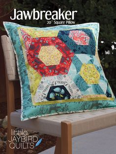 Patterns | Jaybird Quilts-  I made this one-stop by Cobblestone Quilts to see it!  I