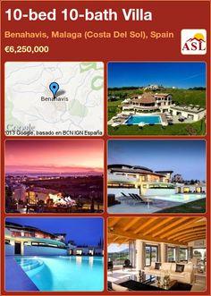 10-bed 10-bath Villa in Benahavis, Malaga (Costa Del Sol), Spain ►€6,250,000 #PropertyForSaleInSpain