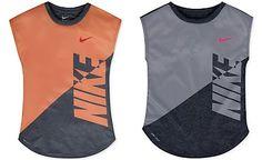 Nike Splice Heather Dri-FIT T-Shirt, Toddler Girls (2T-4T) & Little Girls (2-6X)