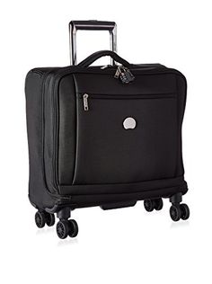 Carry-on Luggage Collections | Delsey Luggage Montmartre 4 Wheel Spinner Business Tote Black >>> Click image to review more details. Note:It is Affiliate Link to Amazon.