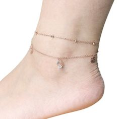 See our Anklets - Ladies coming from a superb assortment at Bijou. Sterling Silver Anklet, Silver Anklets, Women's Anklets, Calf Tattoos For Women, Anklet Bracelet, Bracelets, Rose Gold Anklet, Casual Skirt Outfits, Beach Jewelry