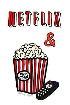 Netflix and Popcorn=🖤 Iphone Wallpaper Tumblr Aesthetic, Cartoon Wallpaper Iphone, Cute Wallpaper For Phone, Homescreen Wallpaper, Iphone Background Wallpaper, Cute Disney Wallpaper, Cute Cartoon Wallpapers, Cool Wallpaper, Aesthetic Wallpapers