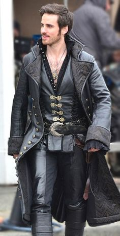 captain hooks coat once upon a time - Google Search