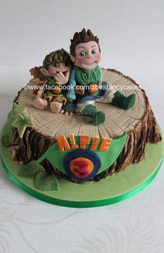 Tree Fu Tom Cake by zoesfancycakes on DeviantArt